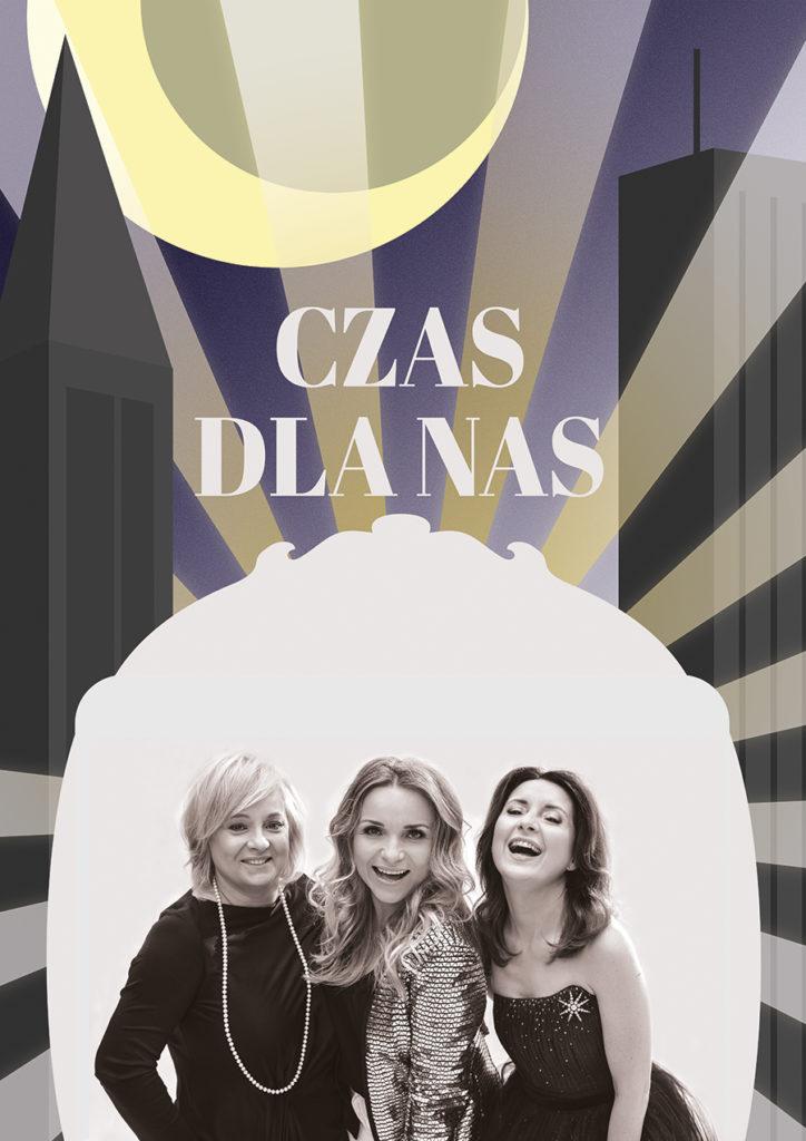 """""""Czas dla nas"""" / plakat vintage art-deco / design: Alicja Rzepa"""