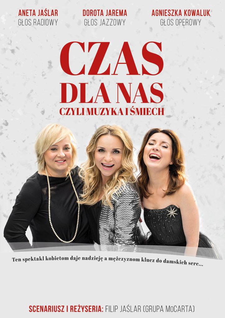 """""""Czas dla nas"""" / plakat / design: Alicja Rzepa"""