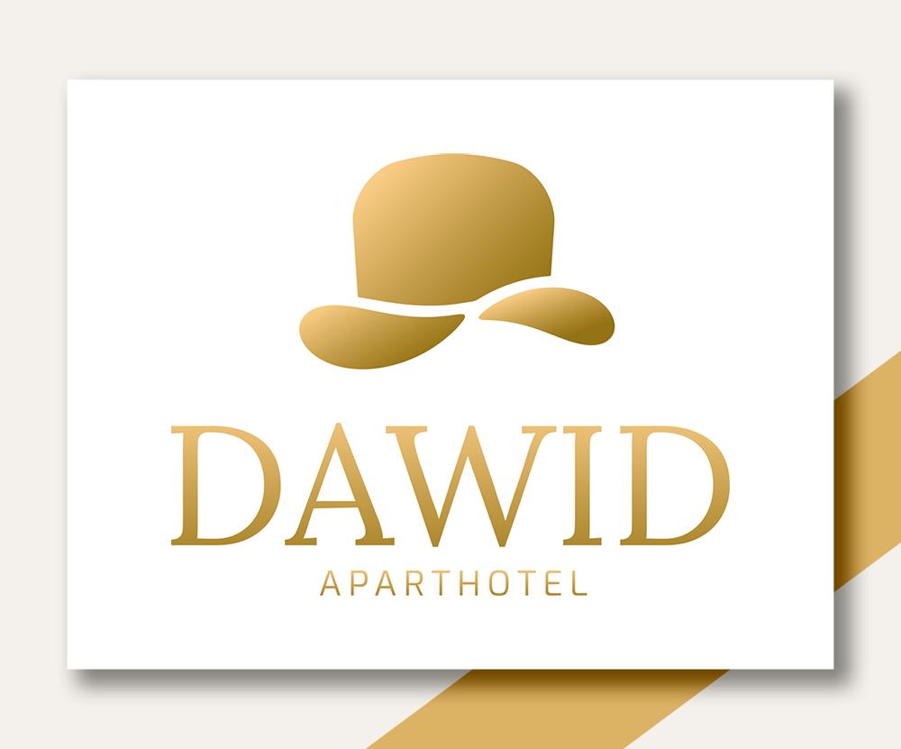Dawid Aparthotel / logo / design: Alicja Rzepa